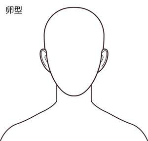 目指す理想の顔型は卵型です。