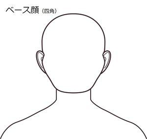 ベース顔(四角)