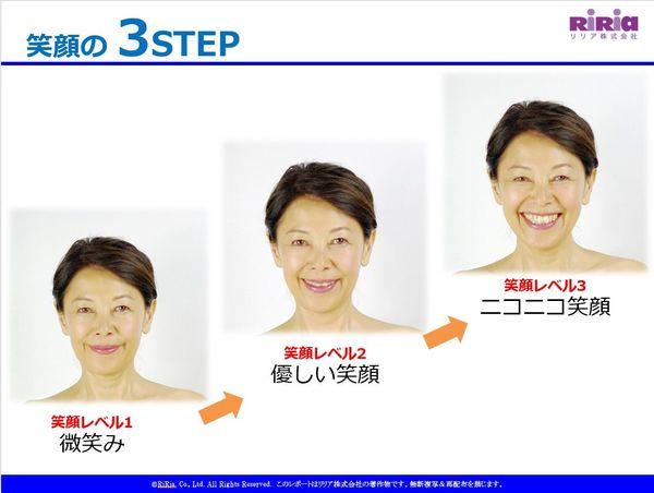 「3種類の笑顔」をコントロールしましょう